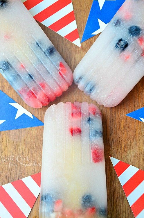 Red-White-and-Blue-Coconut-Berry-Popsicles 1 willcookforsmiles.com