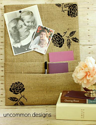 burlap-covered-corkboard