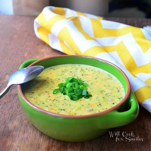 Broccoli Bacon Cheese Soup cr1