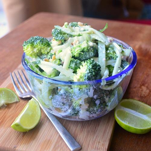 Broccoli cucumber Salad