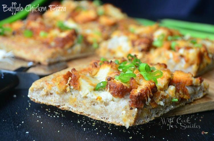 Buffalo-Chicken-Pizza 4 willcookforsmiles.com