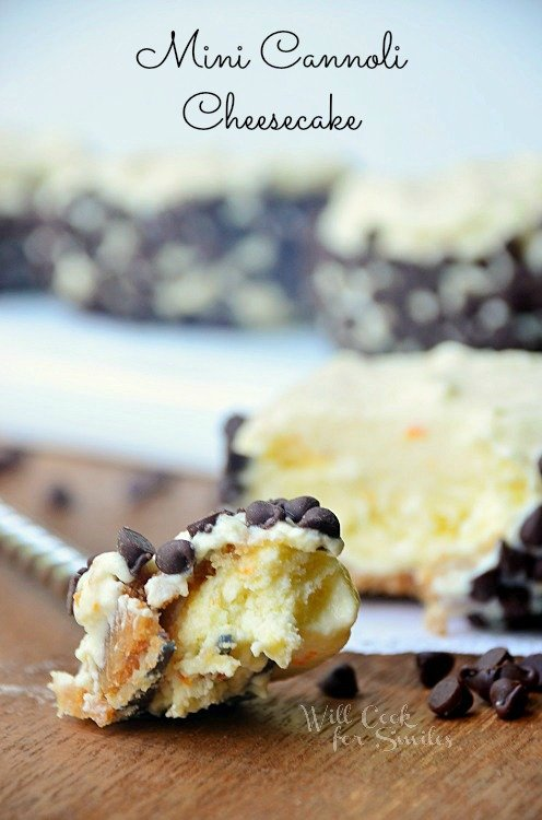 Cannoli-Cheesecake 4 willcookforsmiles.com