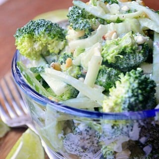 """Cool"" Cucumber Broccoli Salad"