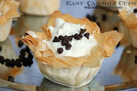 Easy Cannoli Cups 2 ed