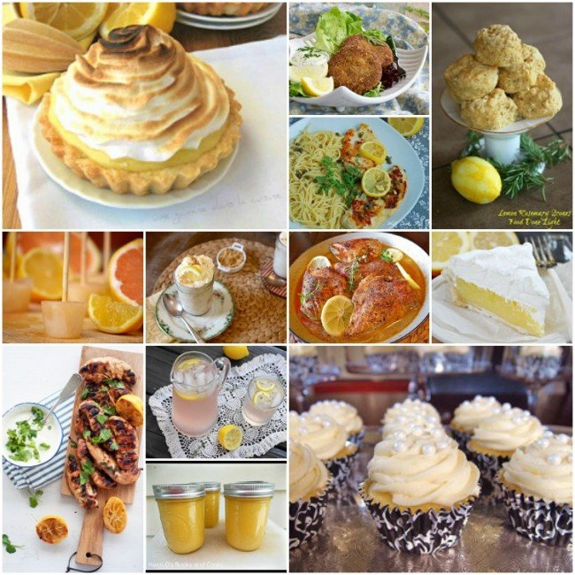 Lemon-recipes Collage