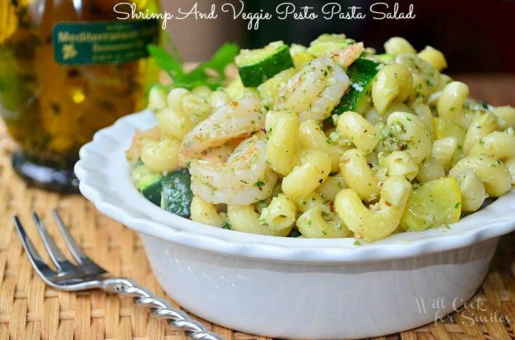 Shrimp-and-Veggie-Pesto-Pasta-Salad 2 willcookforsmiles.com