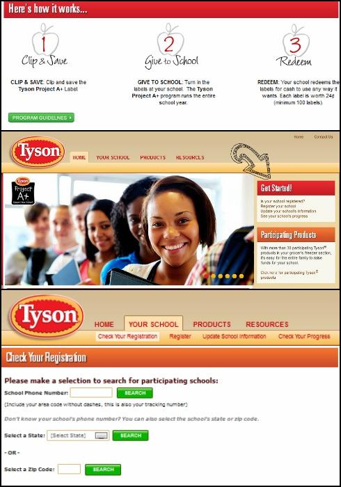 Tyson A+ Program Collage