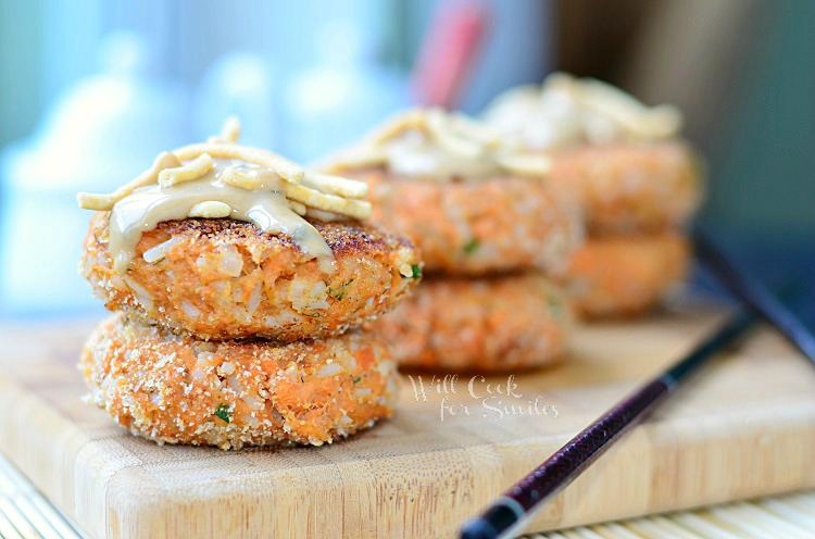 Asian Salmon Cakes 1 (c) willcookforsmiles.com