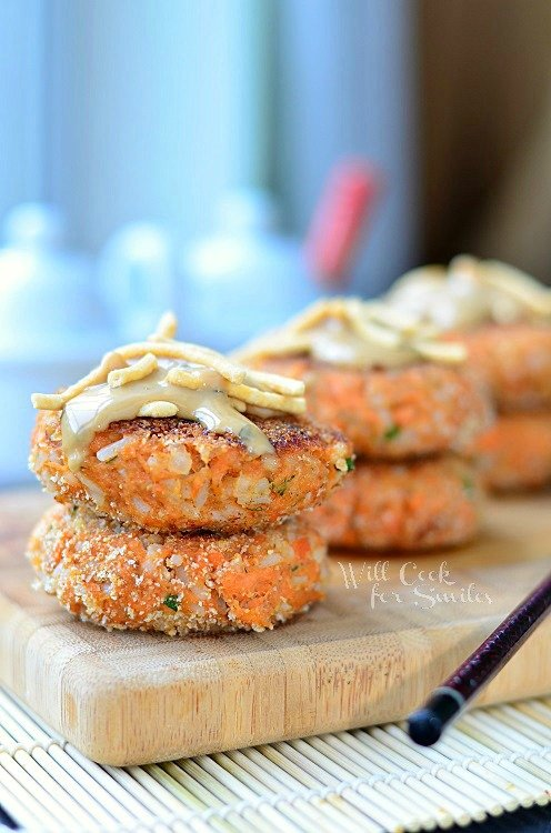 Asian Salmon Cakes  2 (c) willcookforsmiles.com