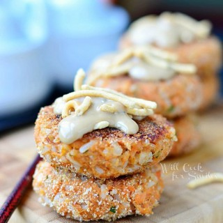 Asian Salmon Patties, Easy Meals with Kraft