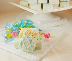 Baby Shower Krispie Treats_on Gift 1
