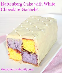 Battenberg-cake-with-white-chocolate-ganache