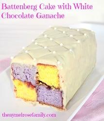 Battenberg-cake-with-white-chocolate-ganache