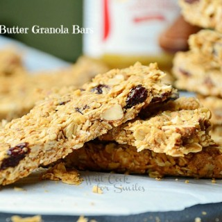 Biscoff Cookie Butter Granola Bars