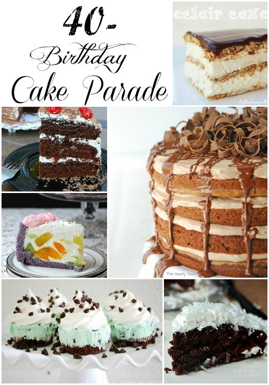 Cakes Cakes Cakes Collage