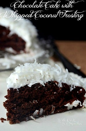 Chocolate-Cake-With-Whipped-Coconut-Frosting-3-willcookforsmiles.com_