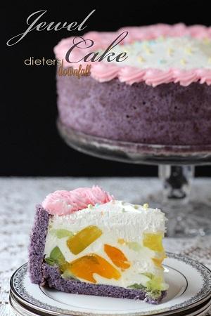 Jewel Strawberry Torte Cake