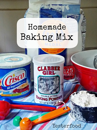 Homemade Baking Mix by Yesterfood