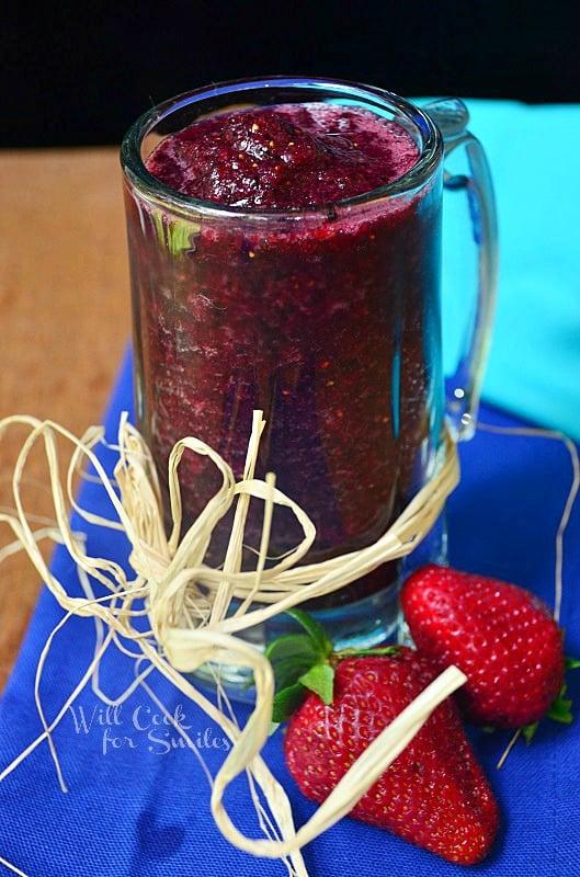 Pomegranate- Berry-Smoothie 1 willcookforsmiles.com
