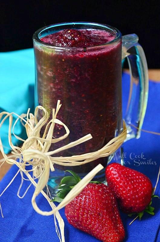 Pomegranate- Berry-Smoothie 3 willcookforsmiles.com