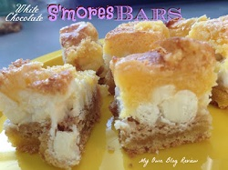 White Chocolate S'mores Bars