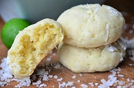 Chewy-Key-Lime-Coconut-Cookies-22-willcookforsmiles.com-