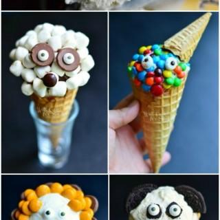 Fun Ice Cream Cone Creations!