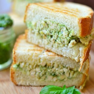 Pesto Rotisserie Chicken Panini