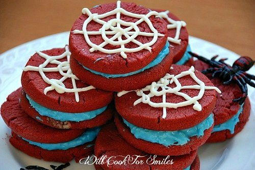 Spider-man sandwich cookies 3 ed