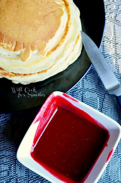 Bloody Pancakes, Halloween Breakfast
