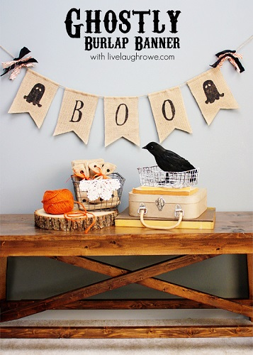 DIY-Ghostly-Halloween-Burlap-Banner-with-livelaughrowe.com_