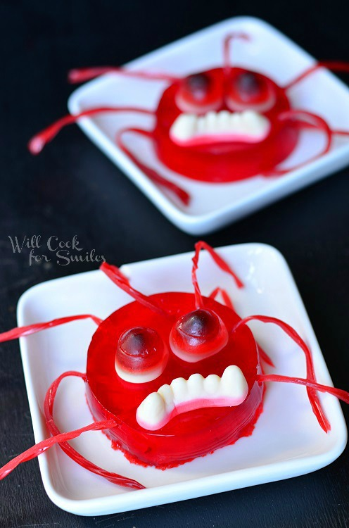 Monster Bash with JELL © willcookforsmiles.com #halloween #monster #jello
