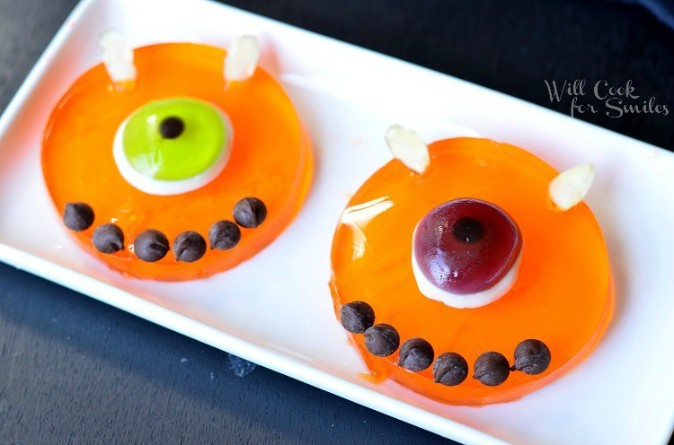 Monster Bash with JELL-O Jigglers 3 © willcookforsmiles.com #halloween #monster #jello