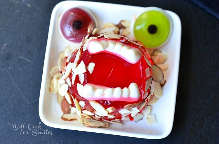 Monster Bash with JELL-O Jigglers 6 © willcookforsmiles.com #halloween #monster #jello