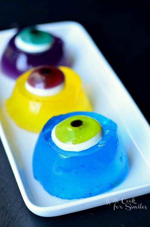 Monster Bash with JELL-O Jigglers © willcookforsmiles.com #halloween #monster #jello
