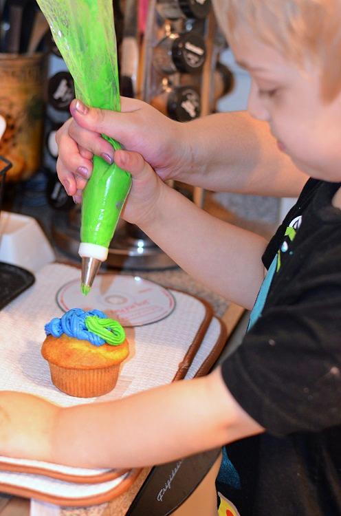 Monsters U Cupcakes