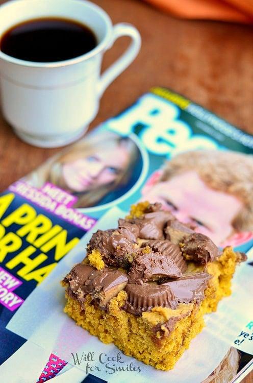 Peanut Butter Cup Pumpkin Cookies 6