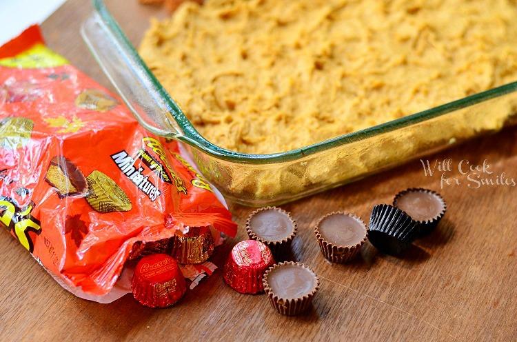 Peanut Butter Cup Pumpkin Cookies
