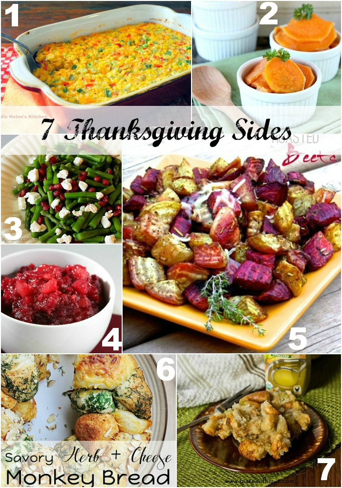 7 Thanksgiving Sides
