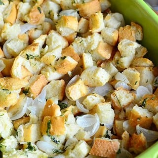 Easy Italian Herb Stuffing
