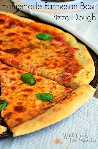 Homemade-Parmesan-Basil-Pizza-Dough-4-willcookforsmiles.com_