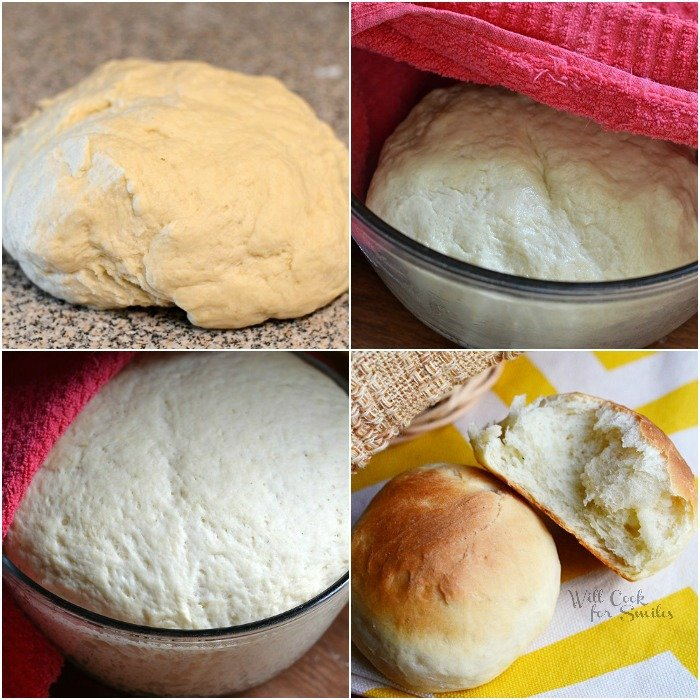 Potato Dinner Rolls from willcookforsmiles.com #bread #rolls