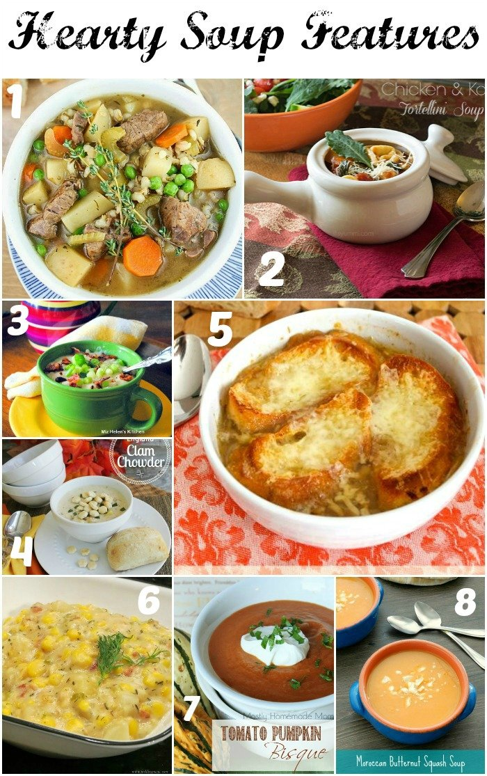 Soup Features Collage