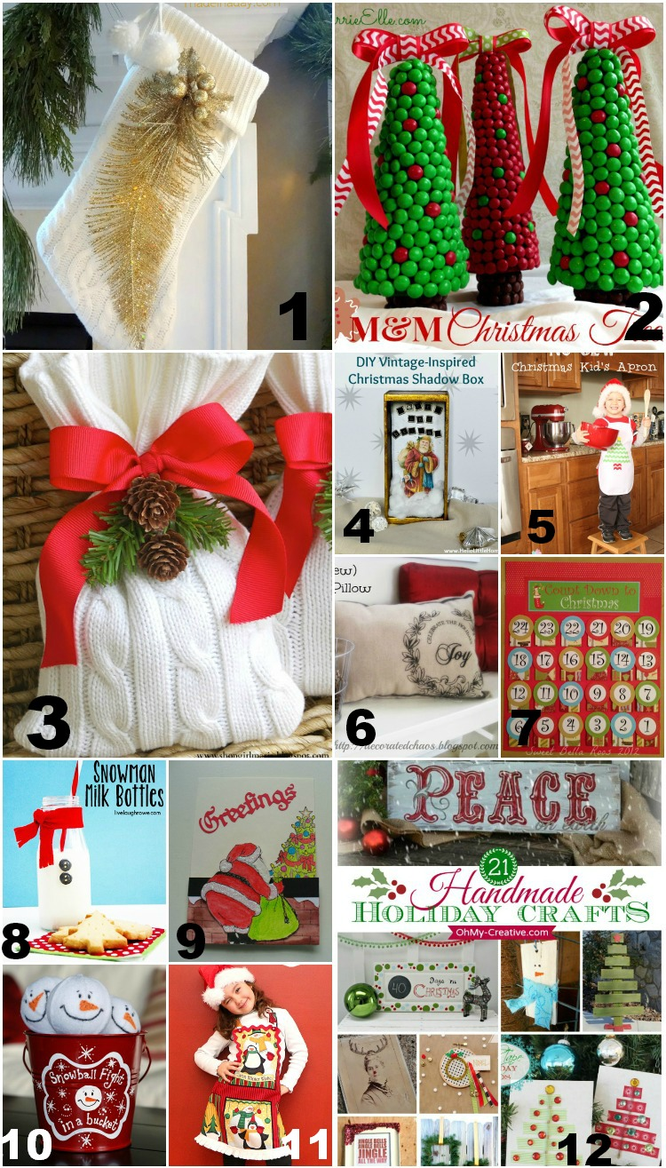 Christmas Craft Features