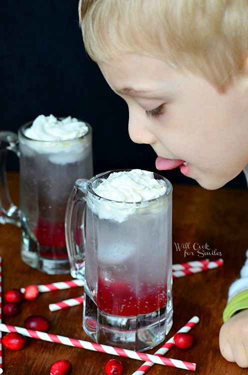 Cranberry Italian Soda 4  from willcookforsmiles.com #cranberry #italiansoda
