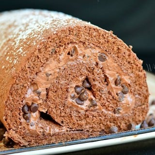 Death By Chocolate Cake Roll