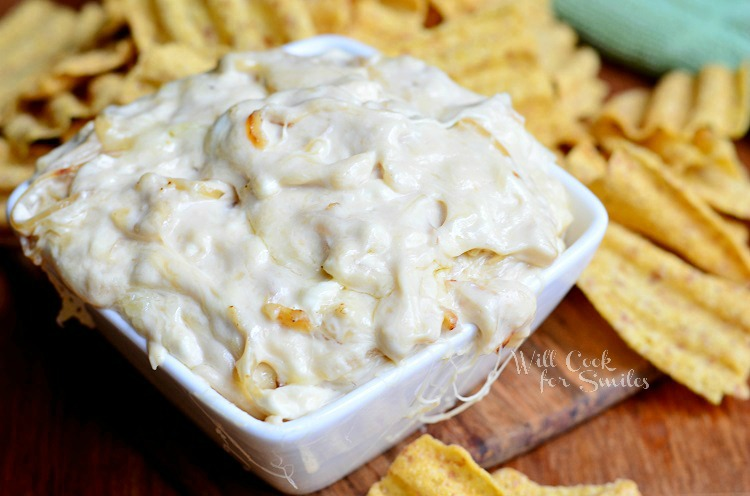French Onion Dip 1 from willcookforsmiles.com #dip #frenchonion