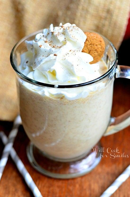 Gingersnap Milkshake 1 from willcookforsmiles.com