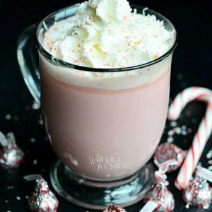 peppermint white chocolate hot cocoa