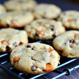 Sumbitches: Peanut Butter Chocolate & Caramel Cookies